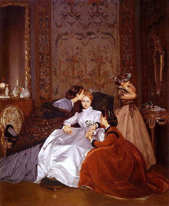 Auguste Toulmouche - Bride (1866) (571x700, 98Kb)