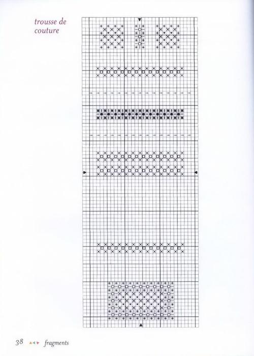 вышивка - домашний декор (схемы) .