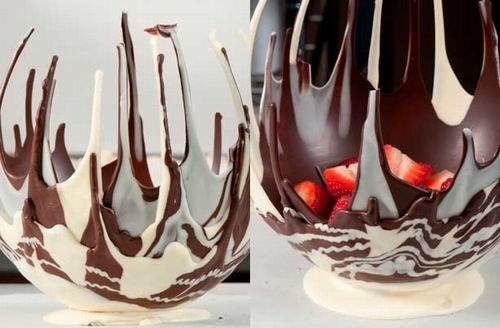 Как сделать форму из шоколада 381