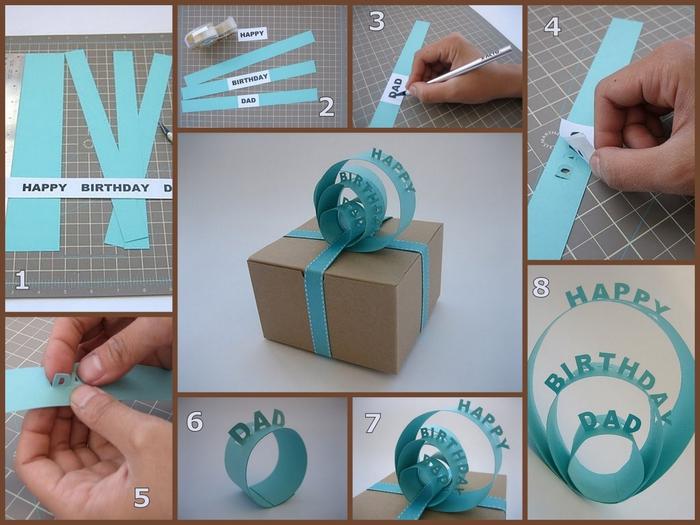 Упаковка для больших подарков своими руками