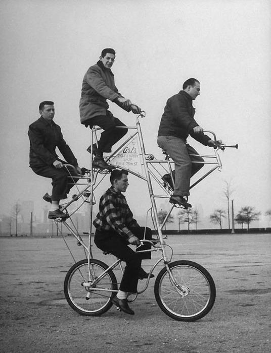 смешные велосипеды ретро-фотографии 2 (536x700, 95Kb)