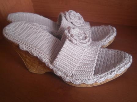 Обувные новости. Поиск обуви: Вязаная обувь детям