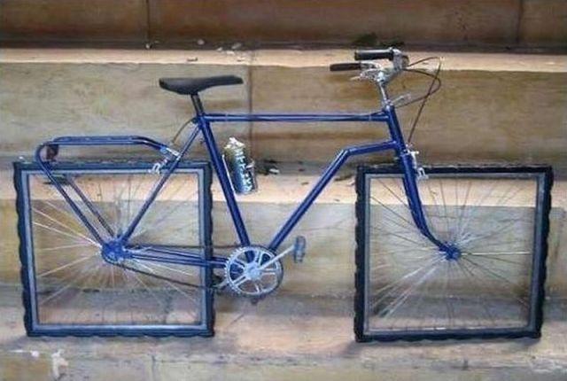 велосипед креатив