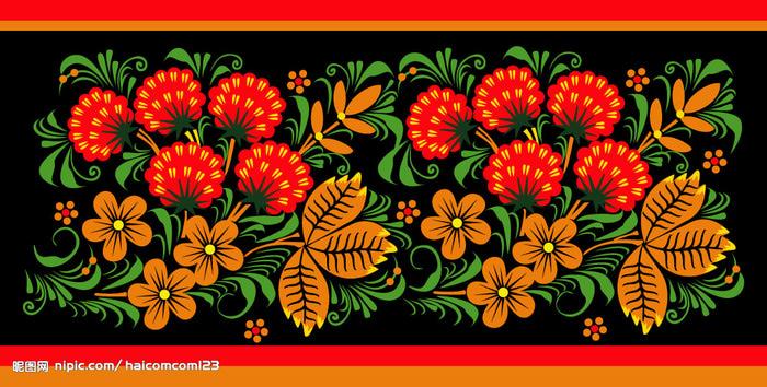 Бисерные браслеты из бисера в русском стиле.