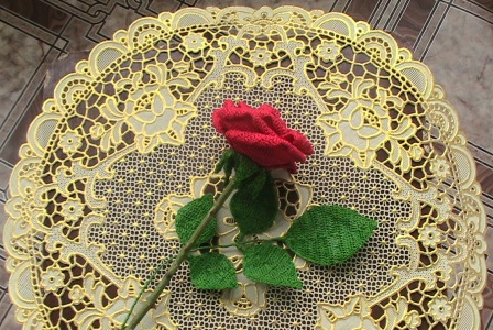 钩针:玫瑰 - maomao - 我随心动