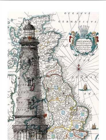 Рисунки на географических картах. 92752590_il_570xN353119641_9dfy
