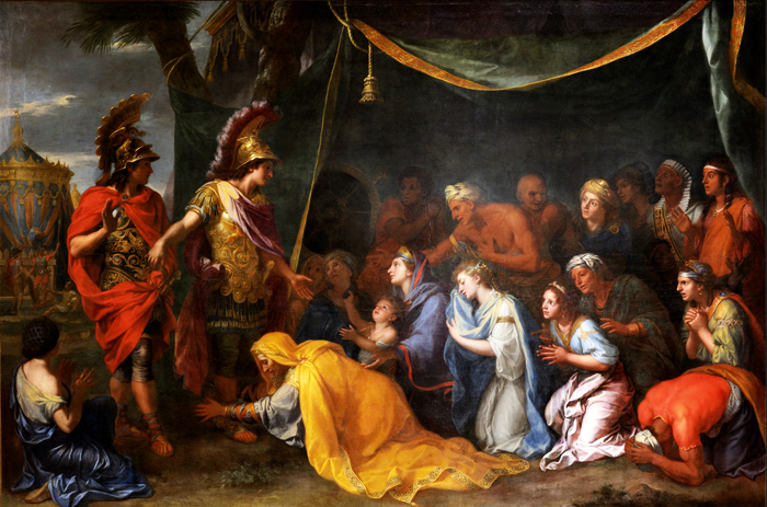 a history of the leadership of alexander the great and charles the great