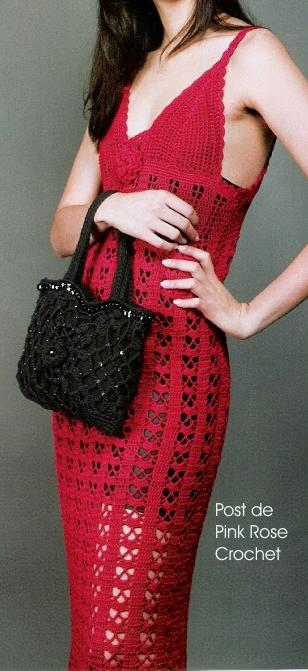 Vestido c Alcinha Crochet Vermelho (308x671, 209Kb)