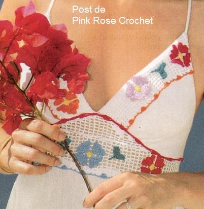 Vestido Pala Flores de Croche- Pink Rose (402x412, 31Kb)