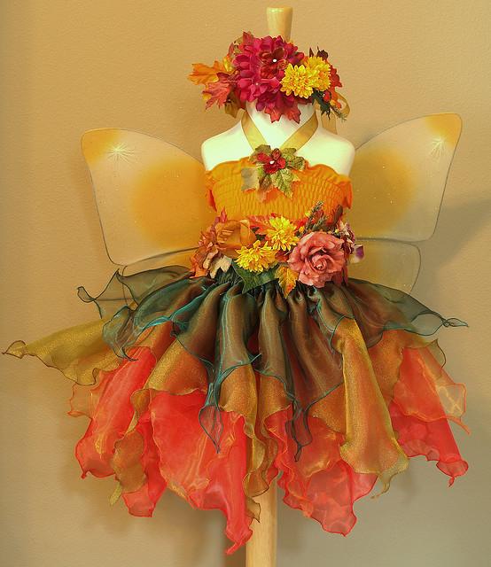 Осеннее платье для девочки