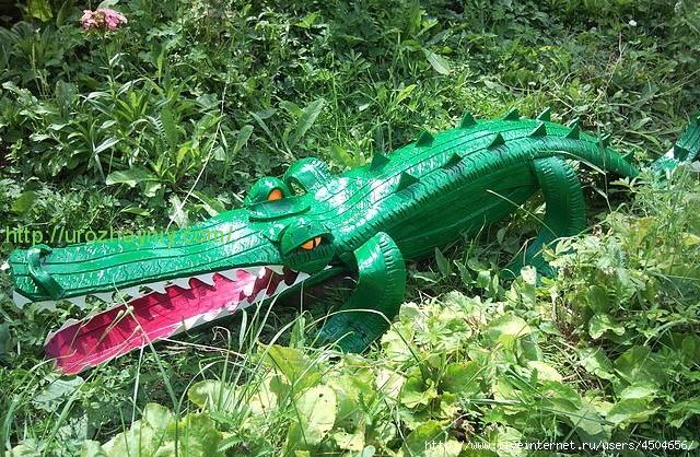 Сделай сам своими руками крокодильчик