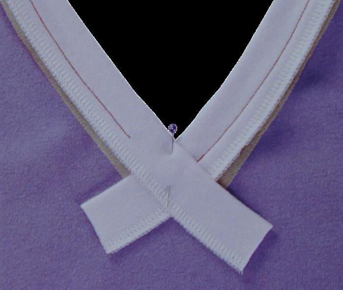Как сделать треугольный вырез