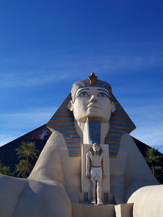 Отель Luxor hotel и Casino, Las Vegas - Пожить в пирамиде. 53928