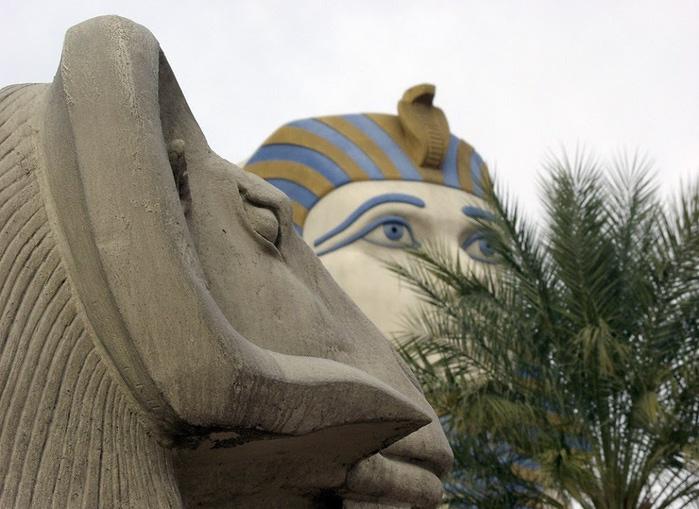 Отель Luxor hotel и Casino, Las Vegas - Пожить в пирамиде. 71575