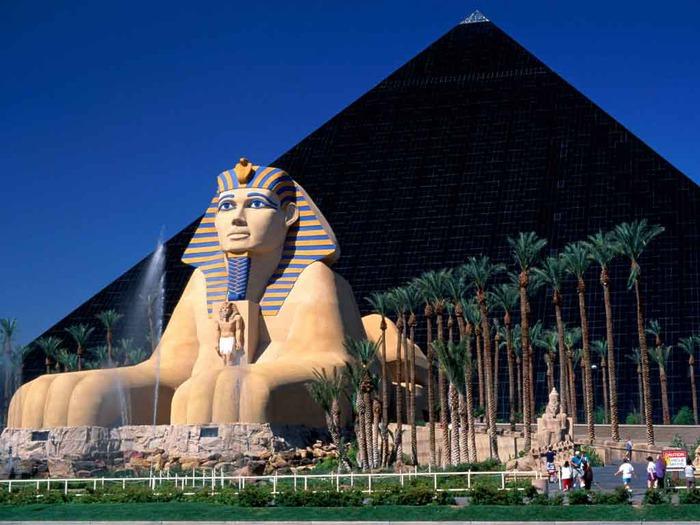 Отель Luxor hotel и Casino, Las Vegas - Пожить в пирамиде. 96591
