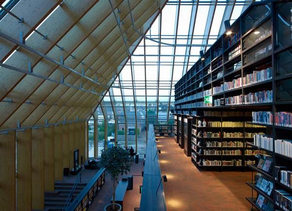 современная библиотека Book Mountain 2 (600x433, 98Kb)