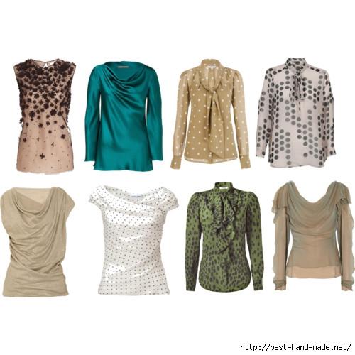 Купить модную блузку в спб