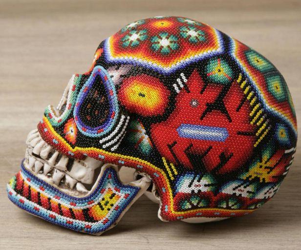 черепа покрытые бисером 10 (616x512, 79Kb)