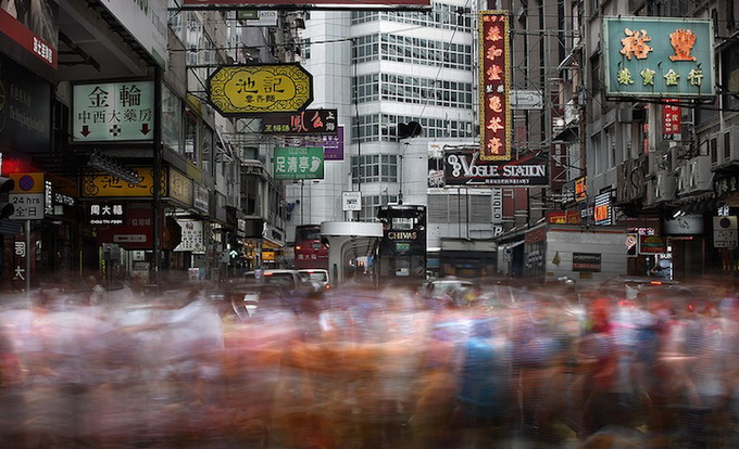 улицы гонконга фото  (680x414, 140Kb)