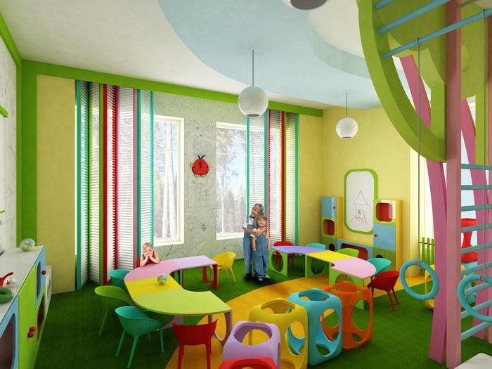 Детский сад дизайн