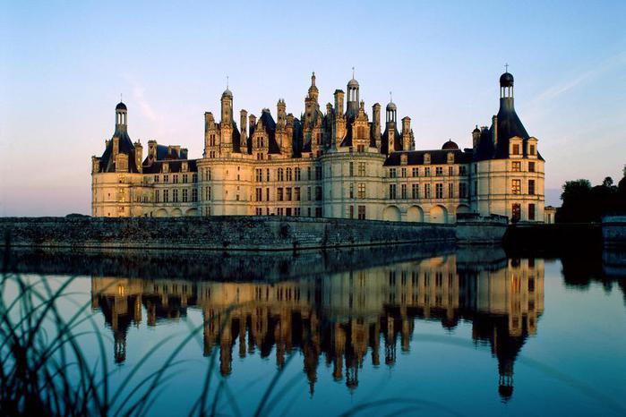 замок шамбор франция (700x466, 49Kb)