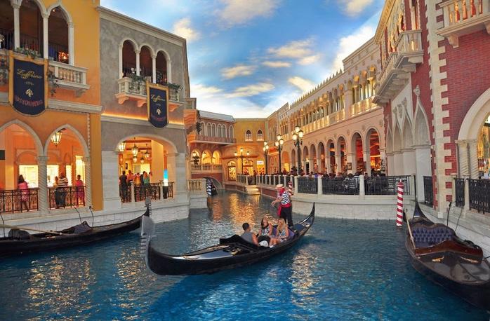 Отель венеция в лас вегасе - завораживающая роскошь. 95131