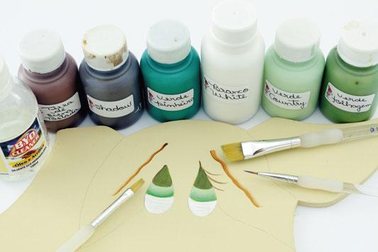 Краски для росписи по фанере