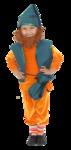 Превью гном оранжево-зеленый (332x700, 187Kb)