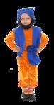 Превью гном оранжево-синий (358x700, 179Kb)