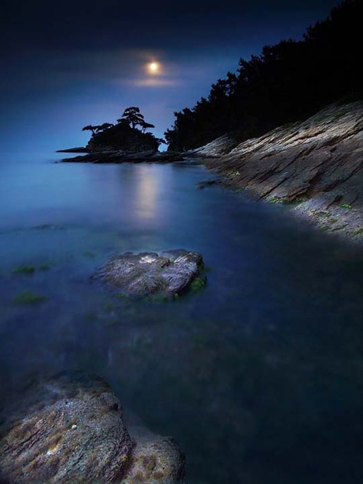 Light of the moon photography
