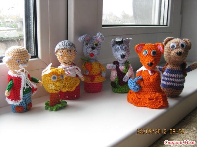 Часть 2 - пальчиковые куклы .