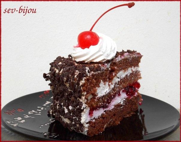 Вишнёвый пирог рецепт со сливками
