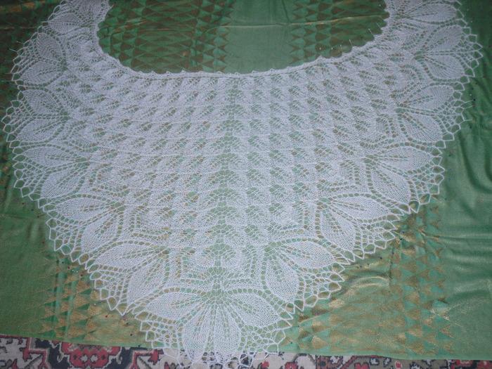 Харуни - треугольная шаль