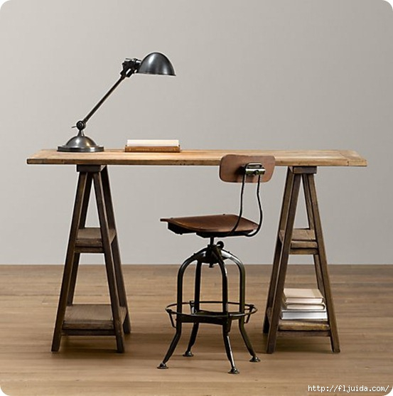 Sawhorse-Trestle-Desk (553x557, 112Kb)