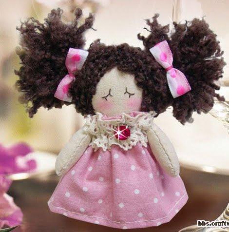 Видео мягкие куклы своими руками