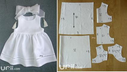 Как сшить платье своими руками для девочки 12 лет выкройка