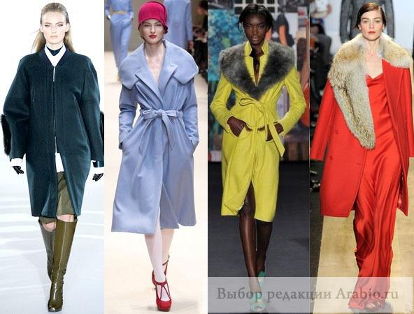 Модных пальто сезона осень зима 2012