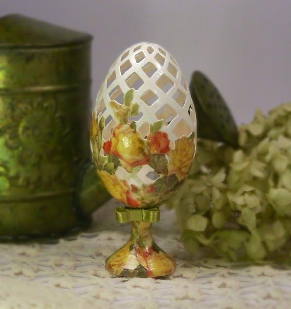 Декупаж из яиц