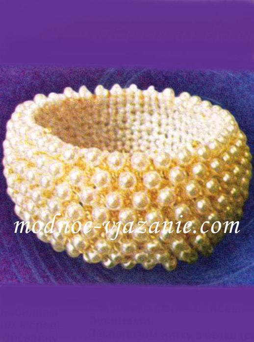 Плетение сетки-основы: Ширина сетки...  Описание работы: Браслет выполняется в два этапа.  Браслет из бисера для...