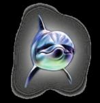Превью дельфины на прозрачном слое (4) (199x203, 42Kb)