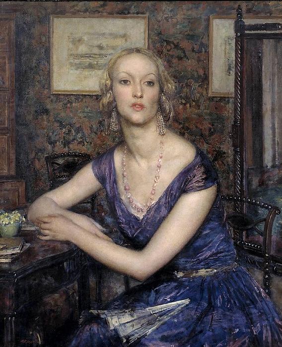 Sir Walter Russell.Cordelia,1930 (568x700, 364Kb)