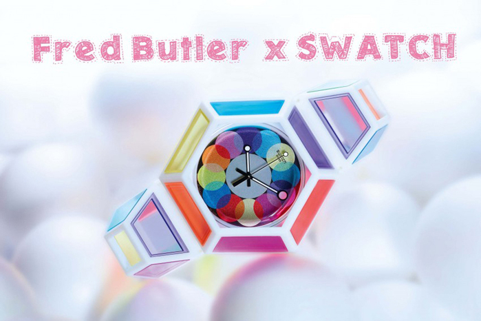 Fred Butler x Swatch ����������� ���� ������� (700x466, 207Kb)