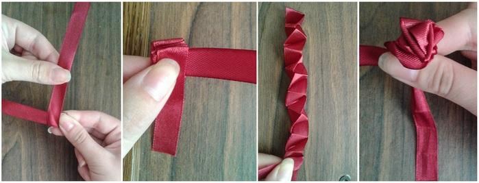 Как сделать гвоздика из цветной бумаги своими