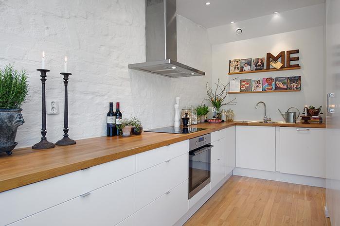 красивый дизайн для маленькой квартиры фото 6 (700x465, 201Kb)