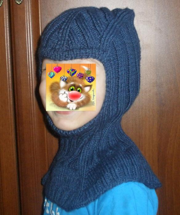 Вязание шлемов для мальчиков