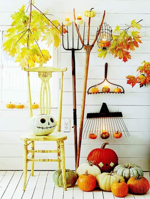 Autumn table decoration ideas