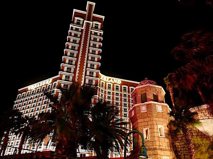"""""""Отель Остров Сокровищ, Лас Вегас, США"""" 83876"""