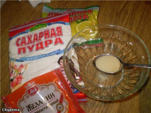 Желатиновая мастика в домашних условиях рецепт 13