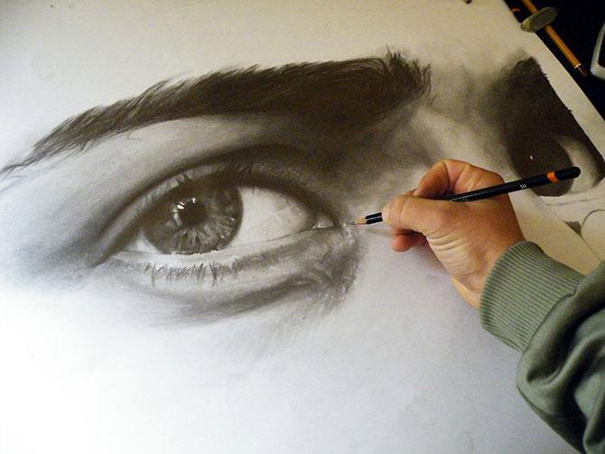 Как рисовать простым карандашом как художник