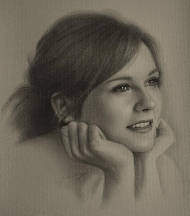 портреты простым карандашом1 (617x700, 221Kb)